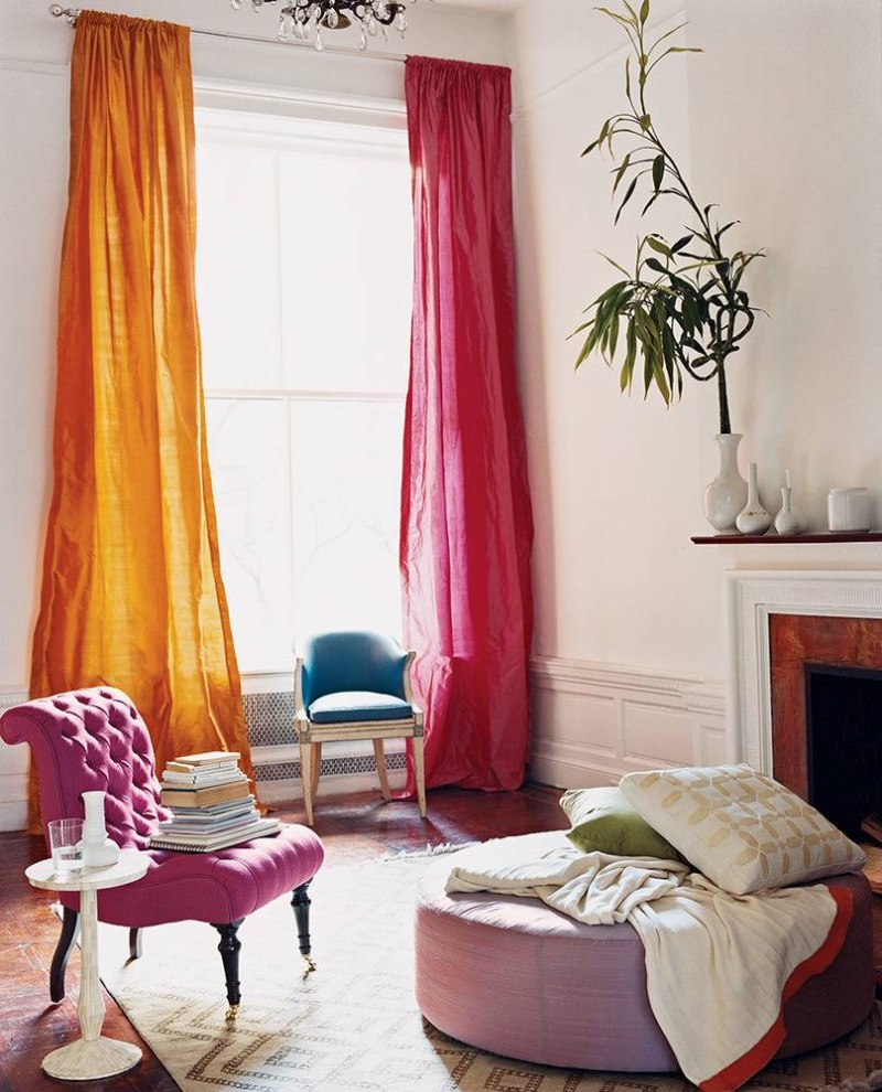 window treatment scarf ideas