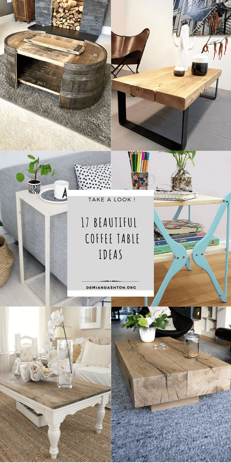 Unique Coffee Table Ideas
