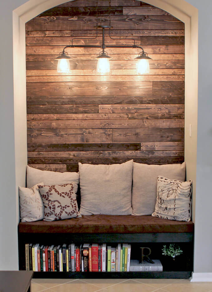 built in reading nook ideas