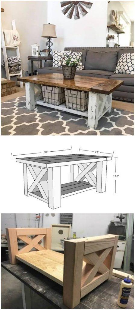 coffee table build ideas
