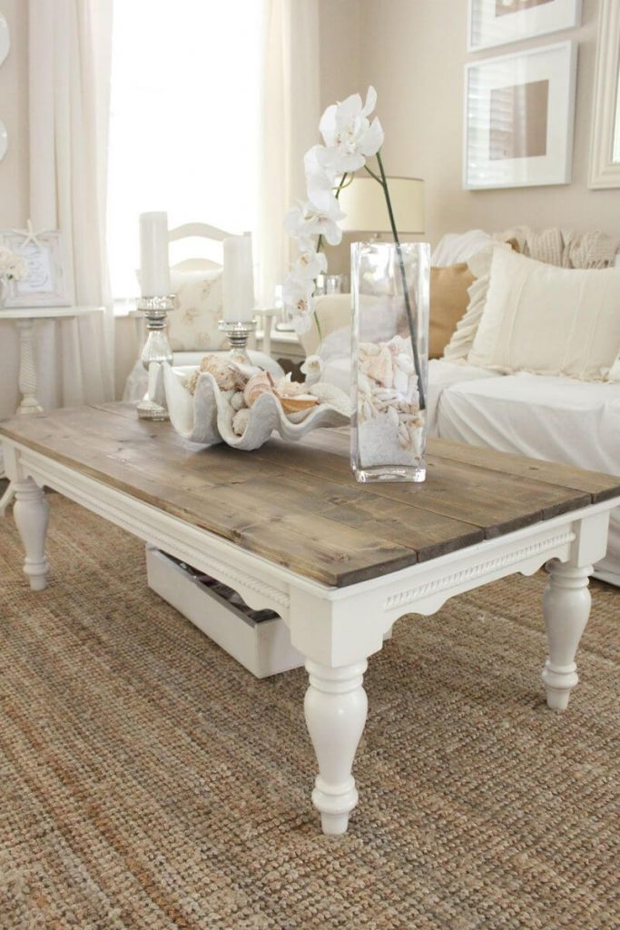 coffee table paint ideas