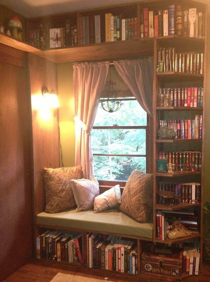 ideas for reading nook