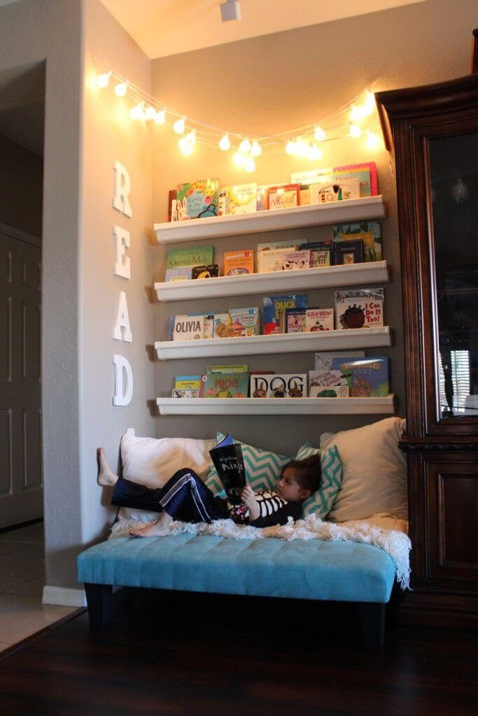 library reading nook ideas