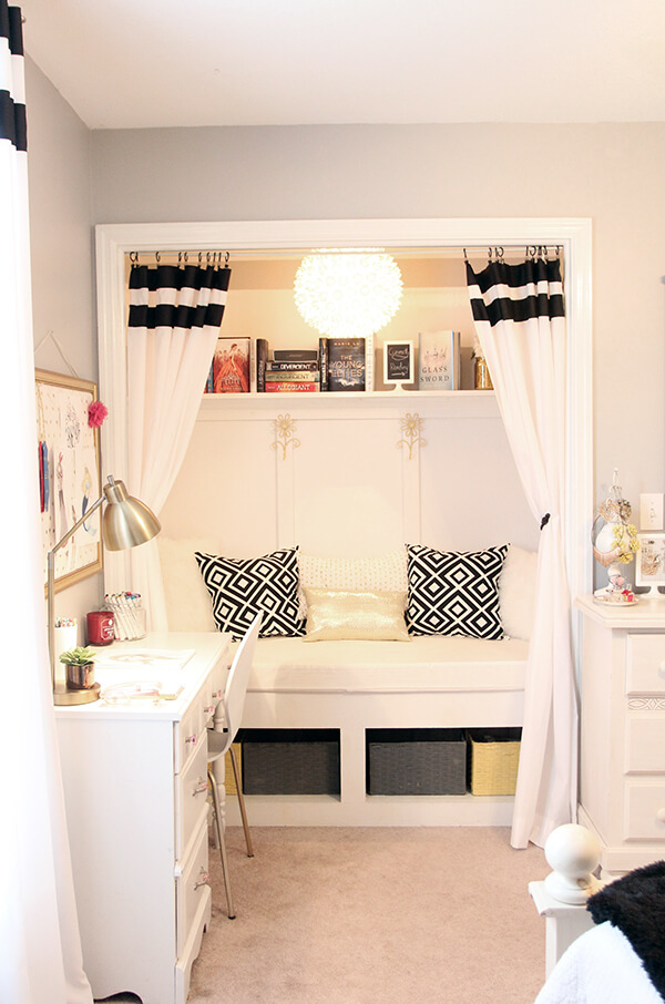 reading nook ideas bedroom