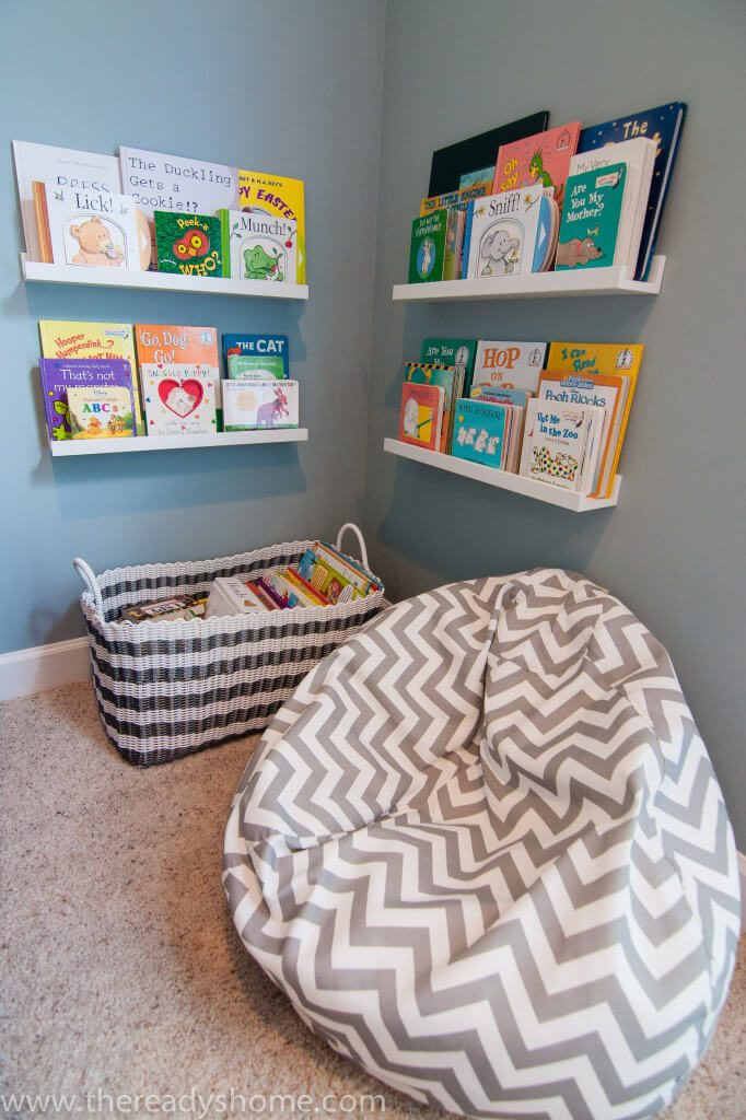 reading nook ideas toddler