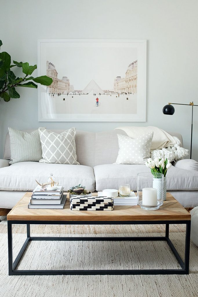white coffee table ideas