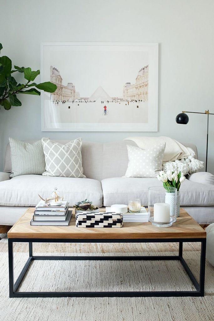 white coffee table ideas