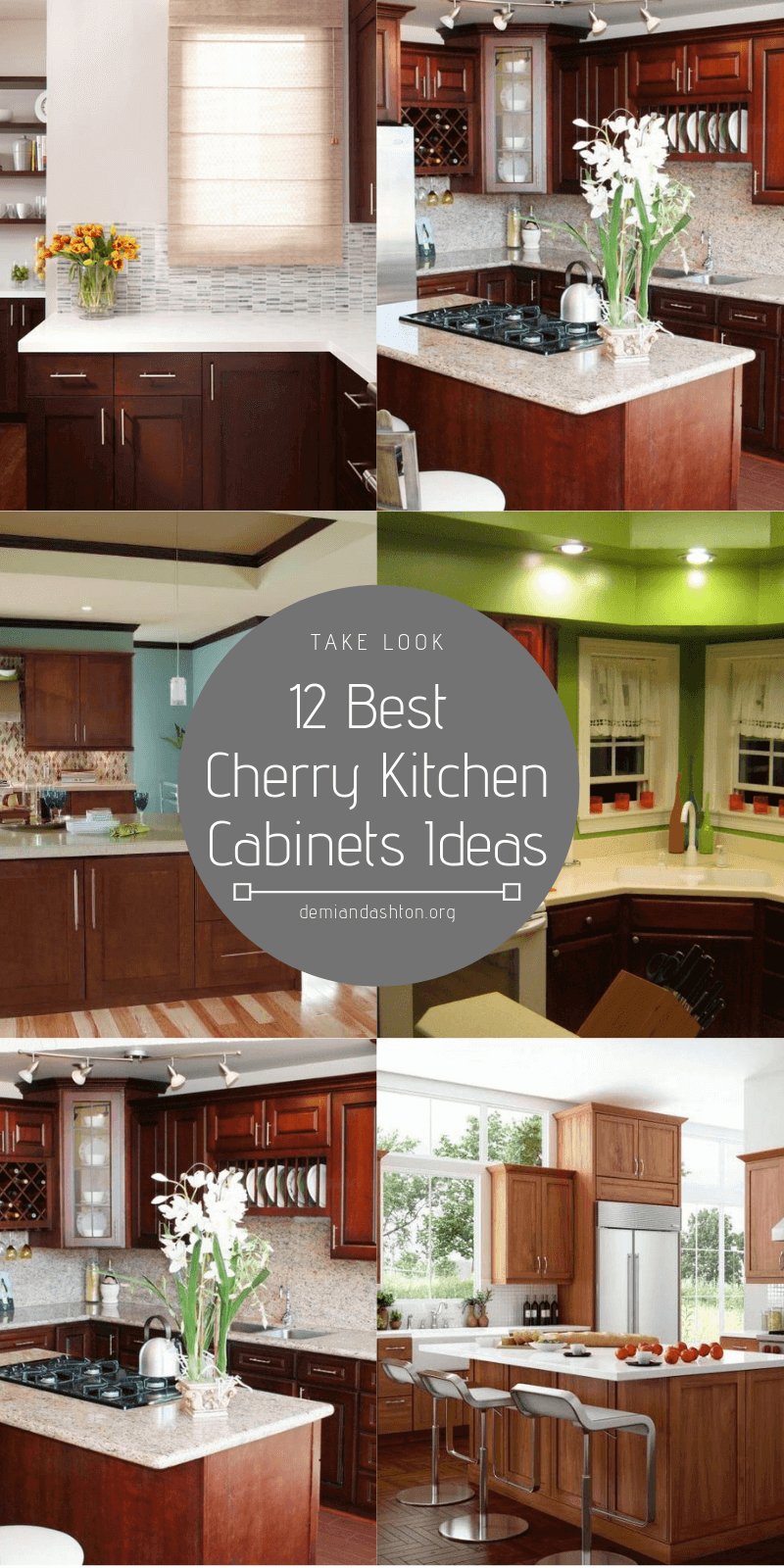 Cherry Kitchen Cabinets Ideas