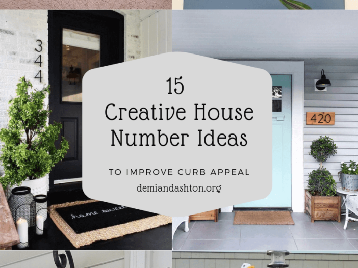 Creative House Number Ideas