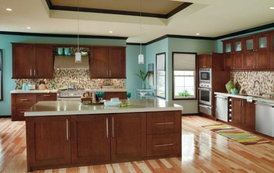 12 Best Cherry Kitchen Cabinets Ideas You\'ll See More of ...