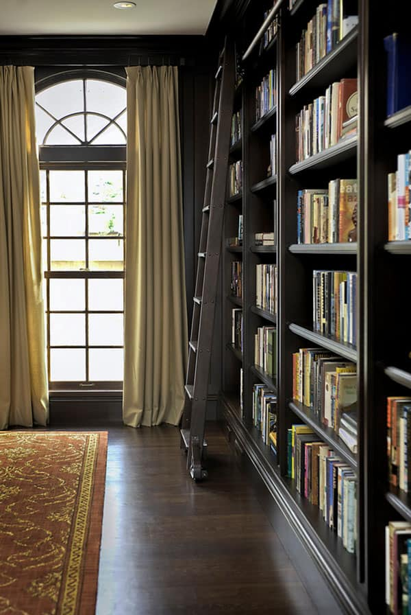 at home library ideas