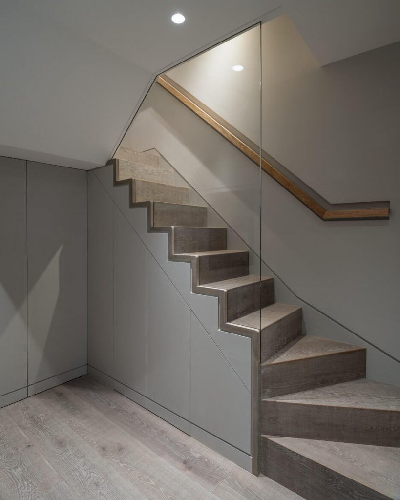 basement stair covering ideas