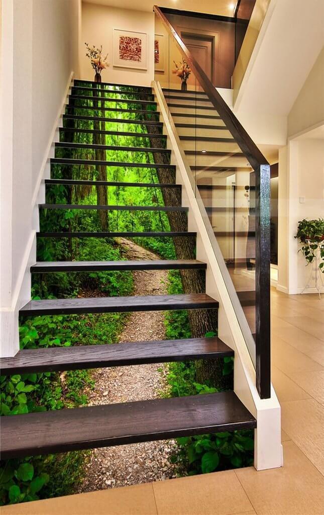 basement stair design ideas