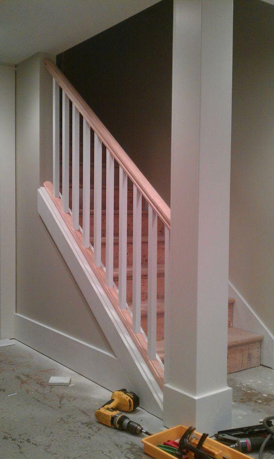 basement stair finishing ideas