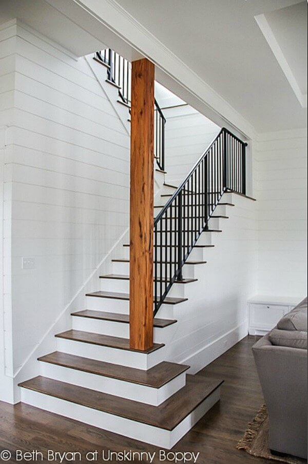 basement stairwell ideas