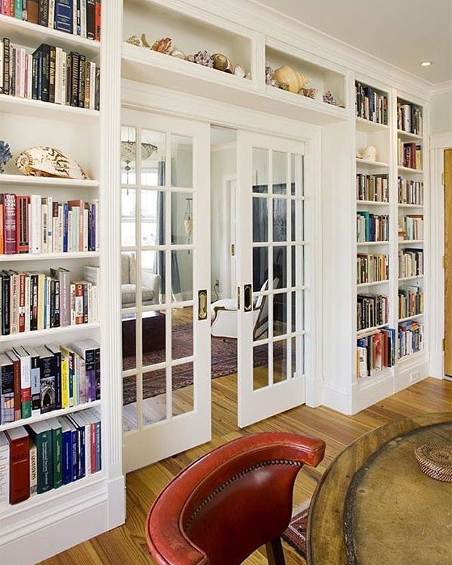 Make A Living Room A Library: 17 Creative Home Library Ideas To Make Your Reading Time