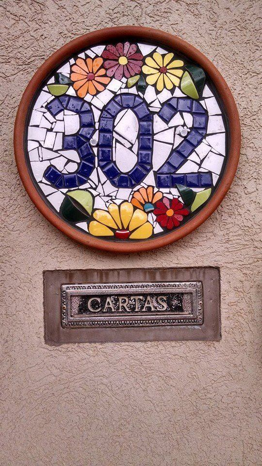 cute house number ideas