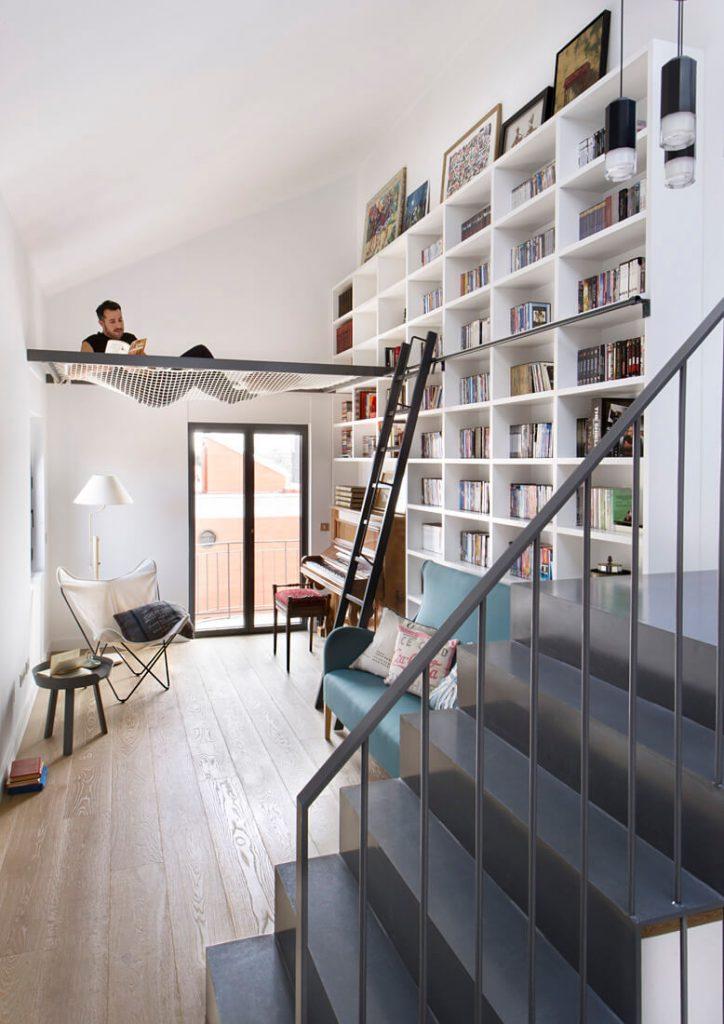 diy home library ideas