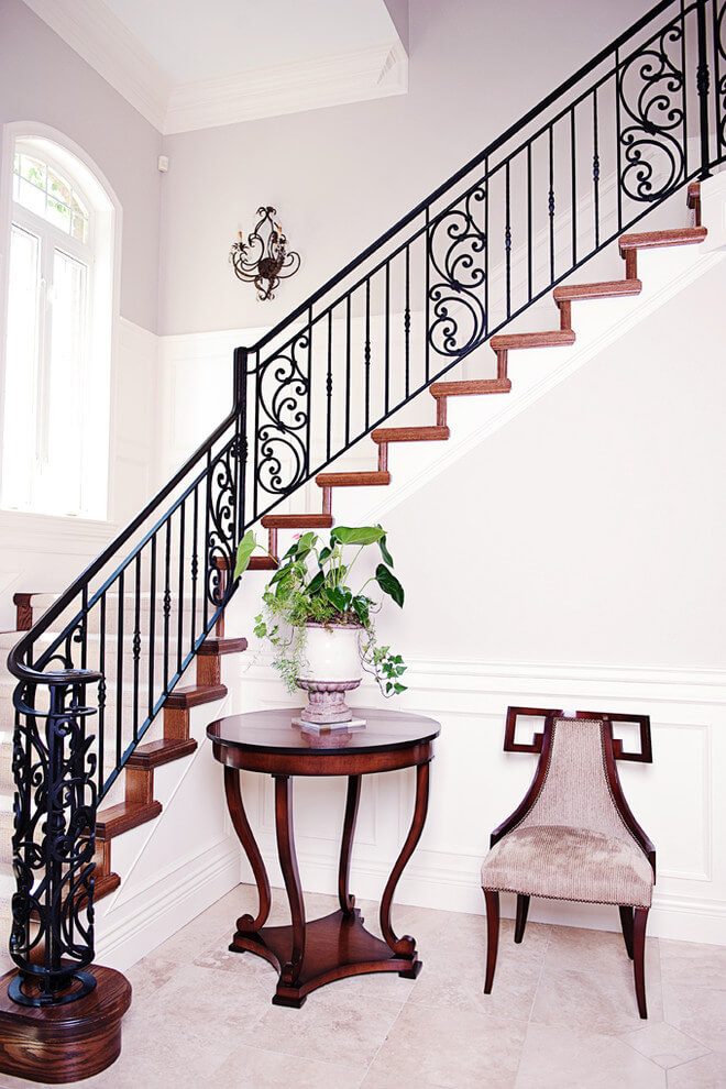 front stair railing ideas