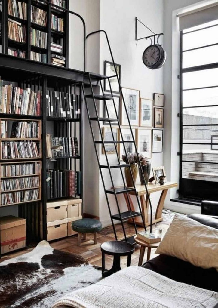 home library furniture ideas
