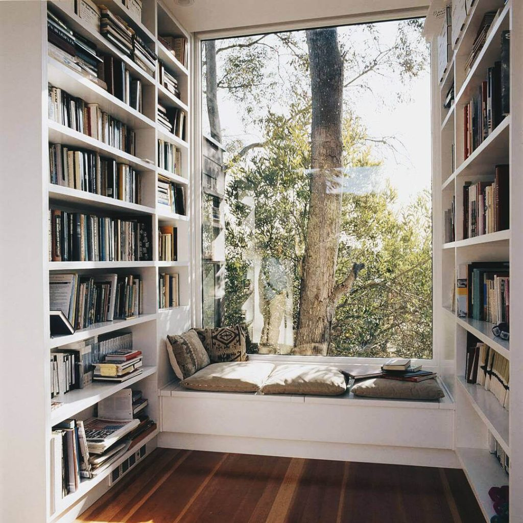 home library ideas for small spaces