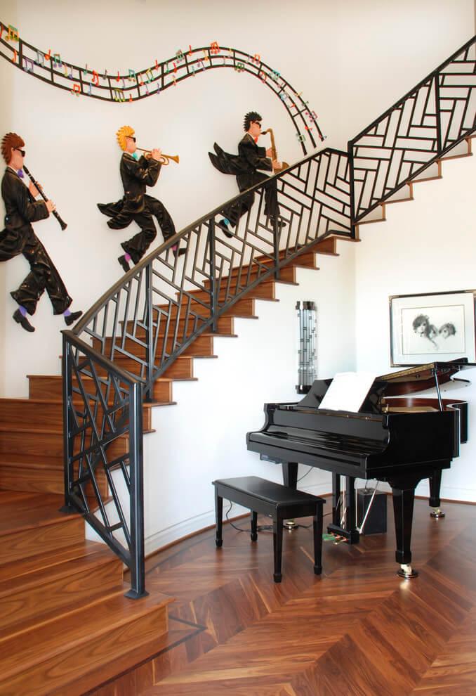 home stair railing ideas