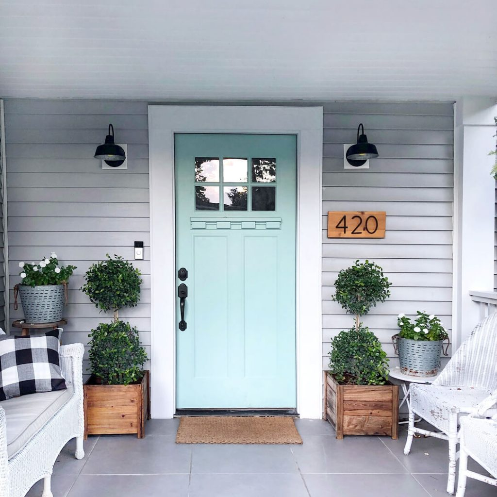 house number sign ideas
