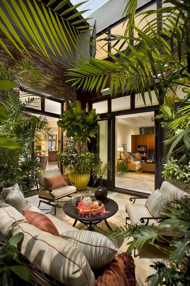 indoor garden party ideas