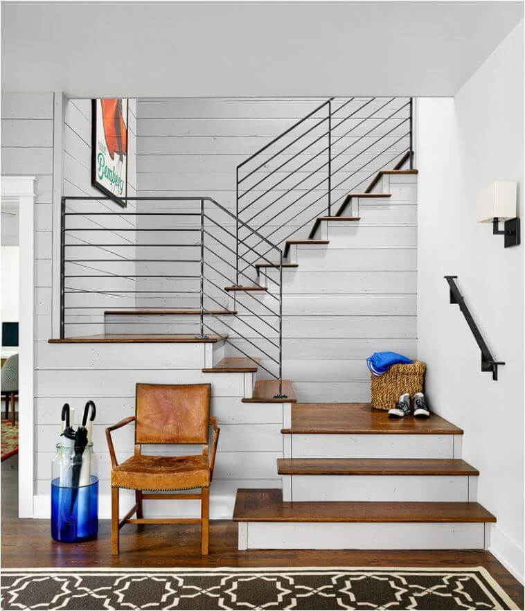 inside stair railing ideas
