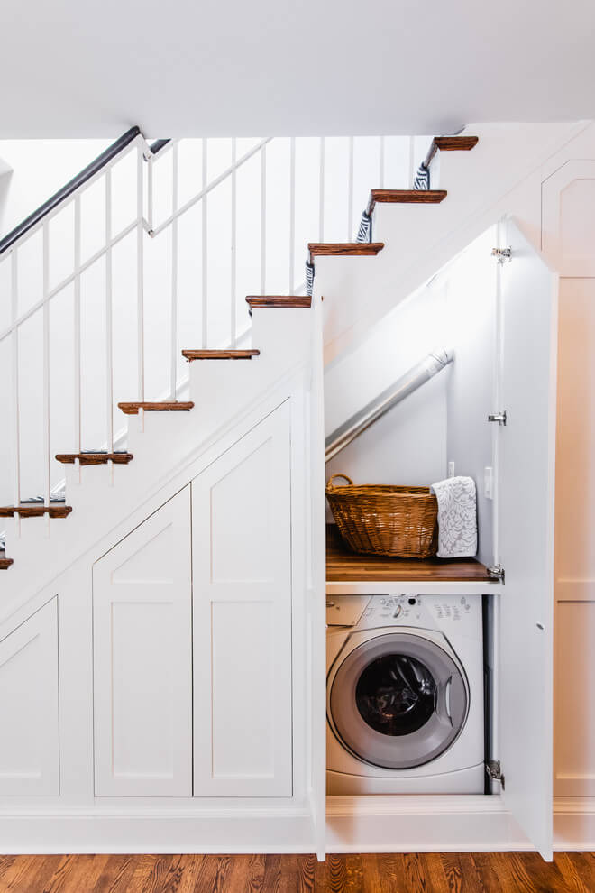 Laundry Room Under Stair Ideas