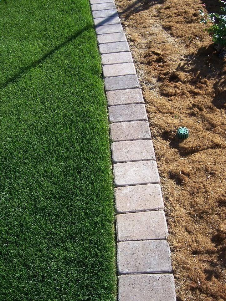 lawn border edging ideas