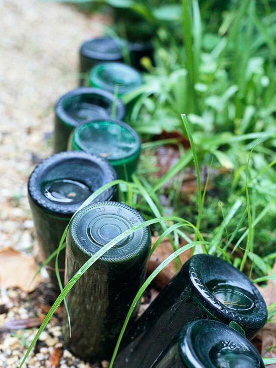 lawn edging ideas cheap