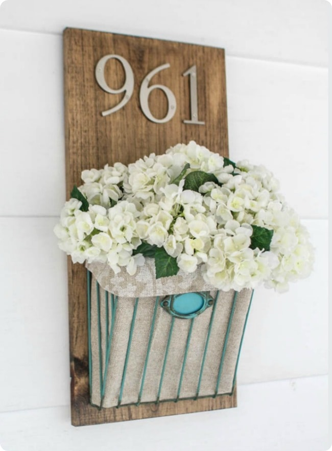 lighted house number ideas