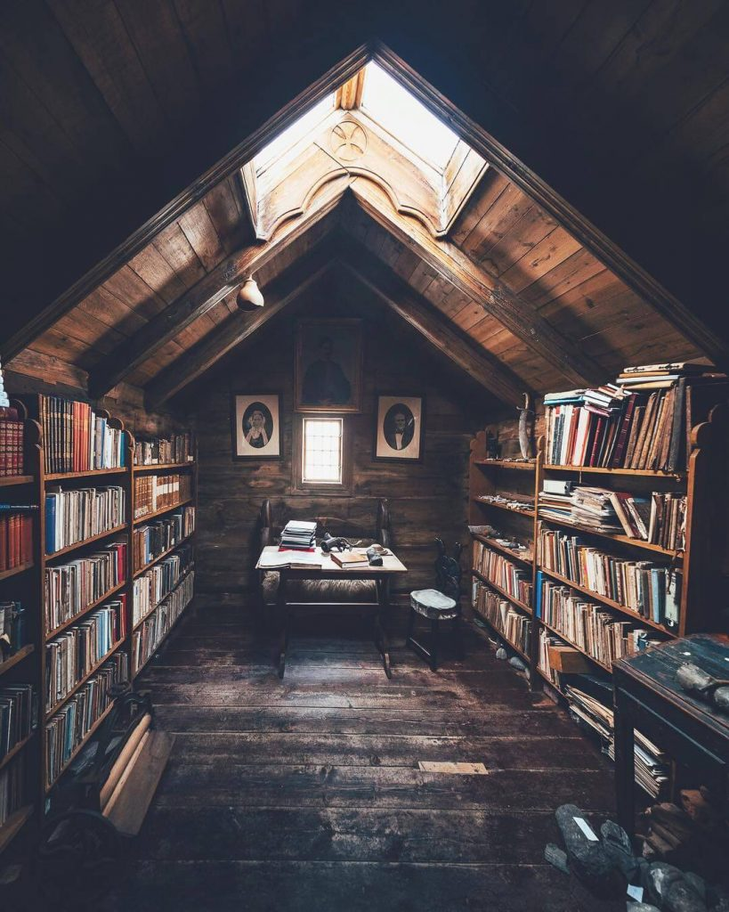 mini home library ideas