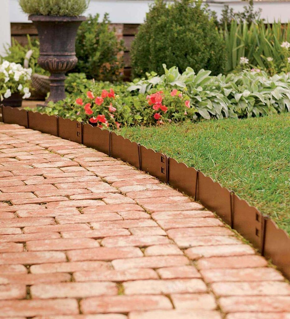 lawn edging materials and ideas