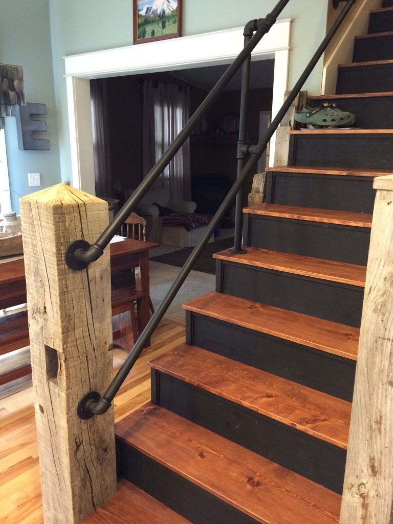 stair railing ideas interior
