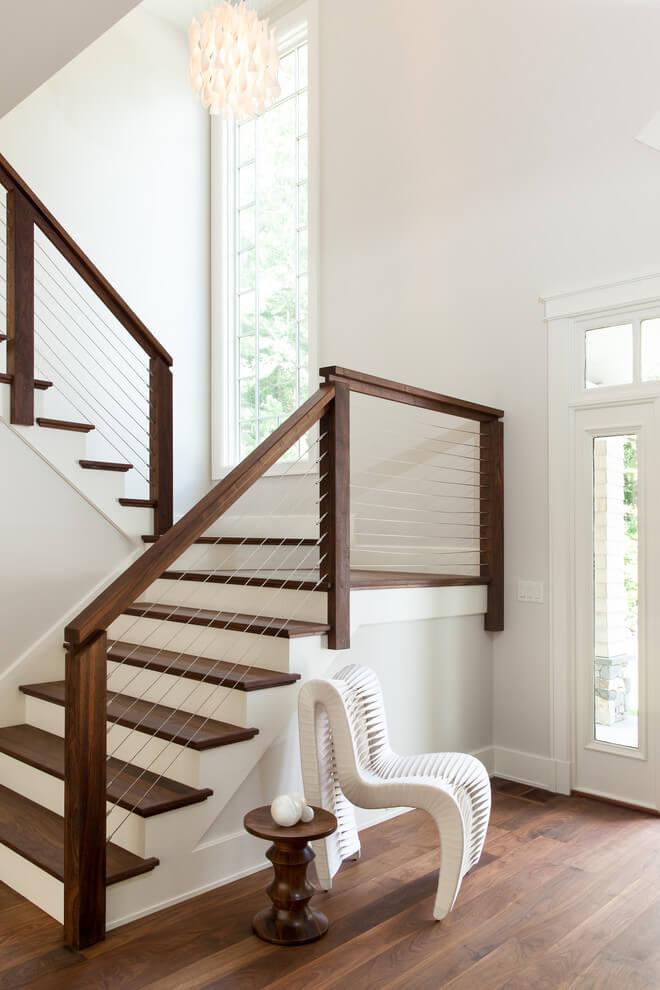 stair railing remodel ideas