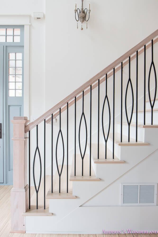 stairwell railing ideas
