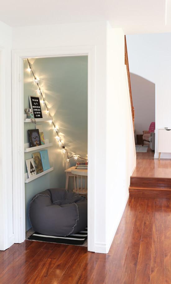 under stair closet ideas