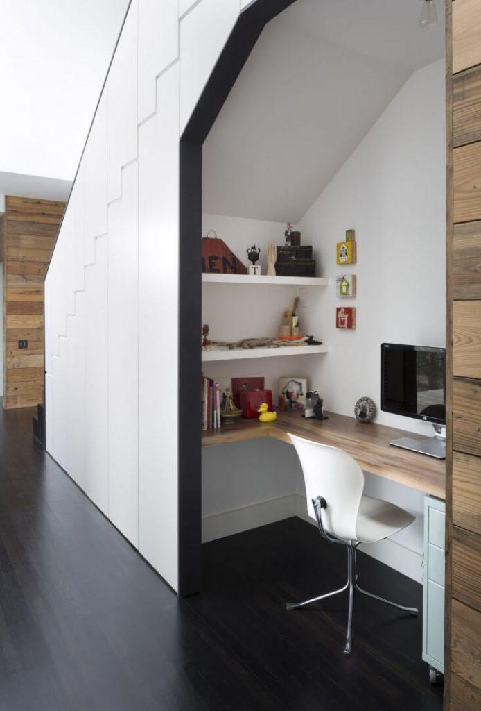 under stair office ideas