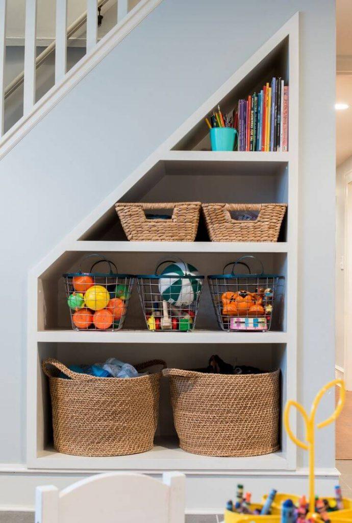 under stair storage ideas diy