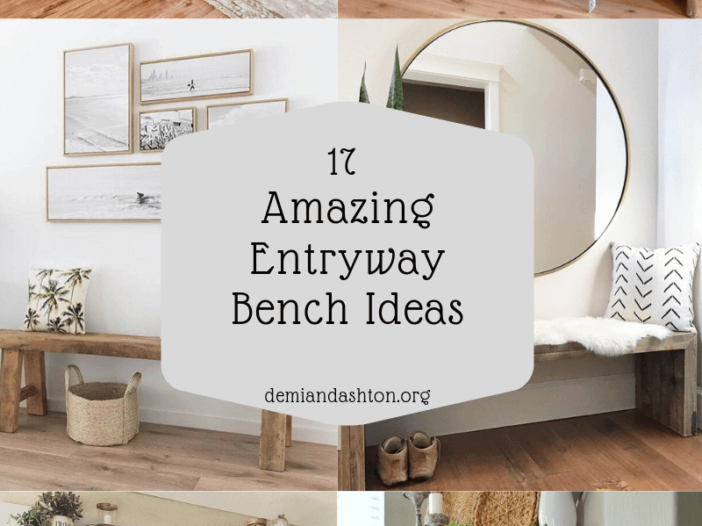 Amazing Entryway Bench Ideas