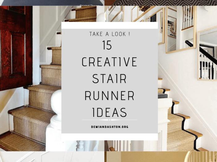 Creative Stair Runner Ideas
