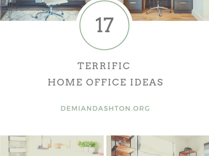 Terrific Home Office Ideas