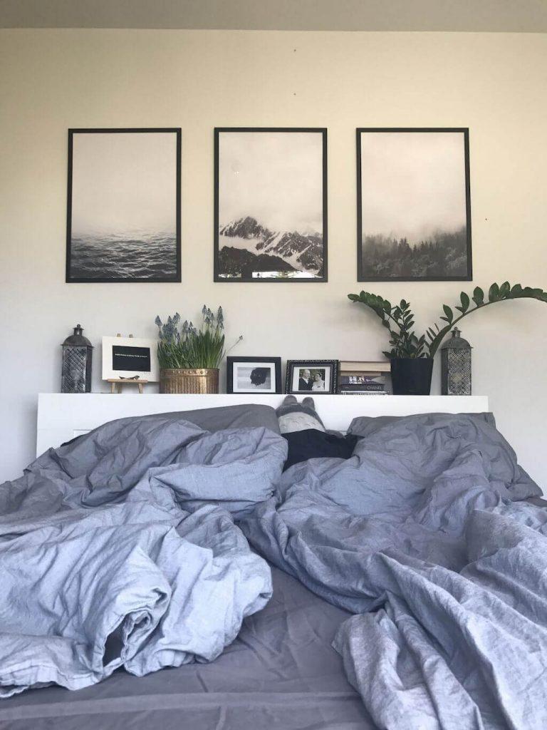 above bed decor ideas