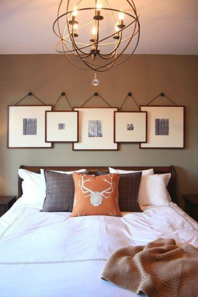 above bed wall decor ideas