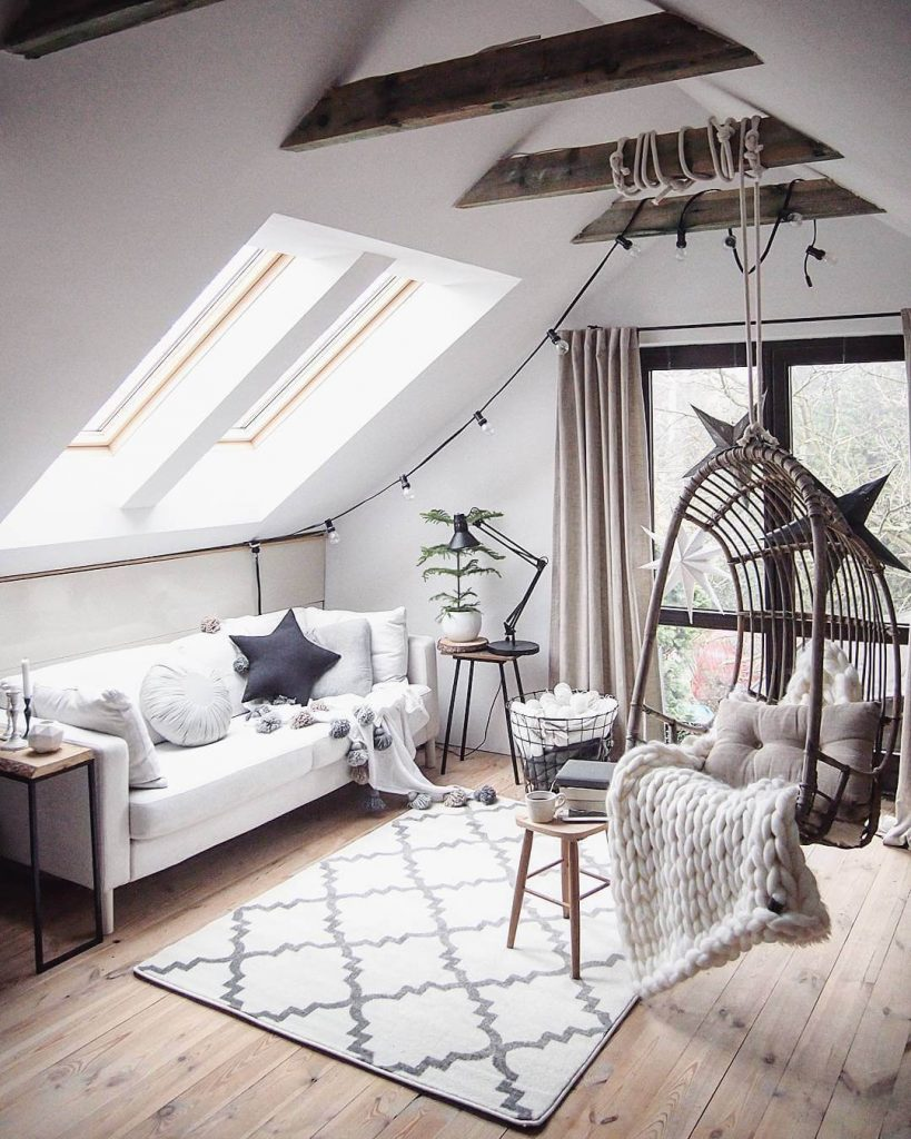 attic living room ideas