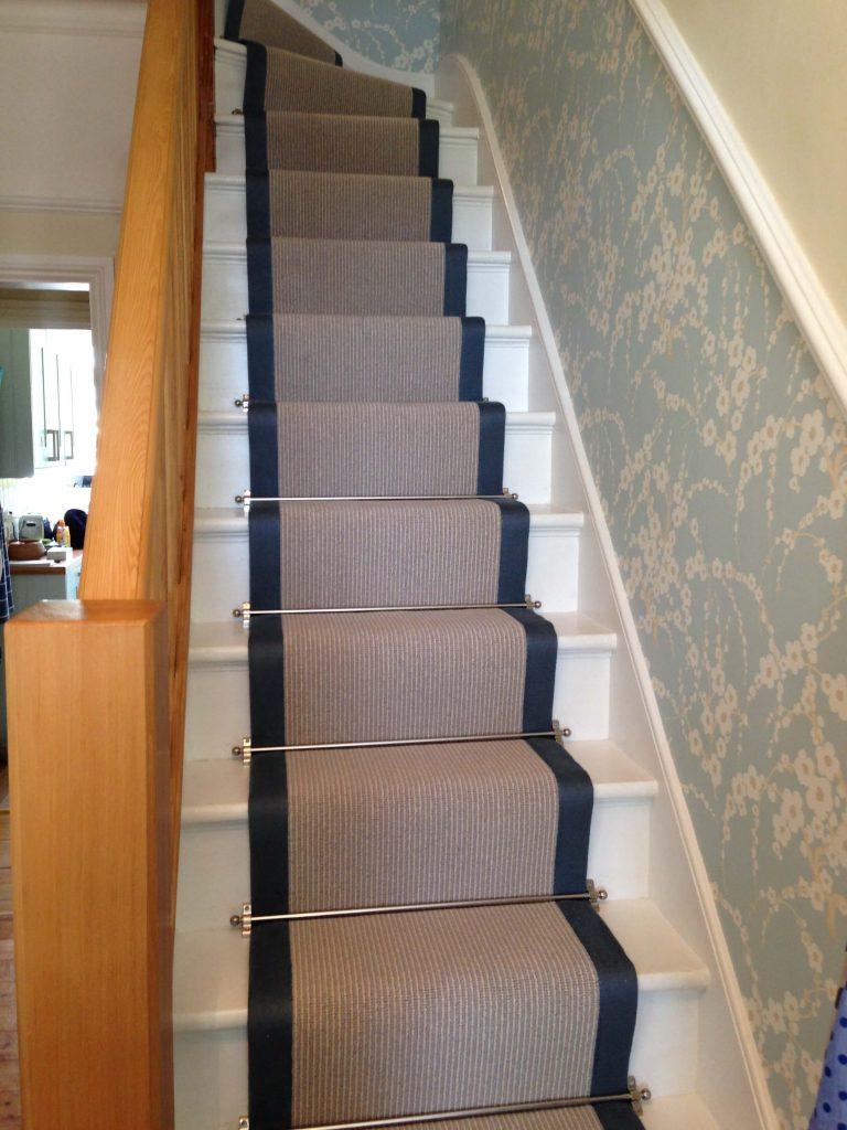 basement stair runner ideas
