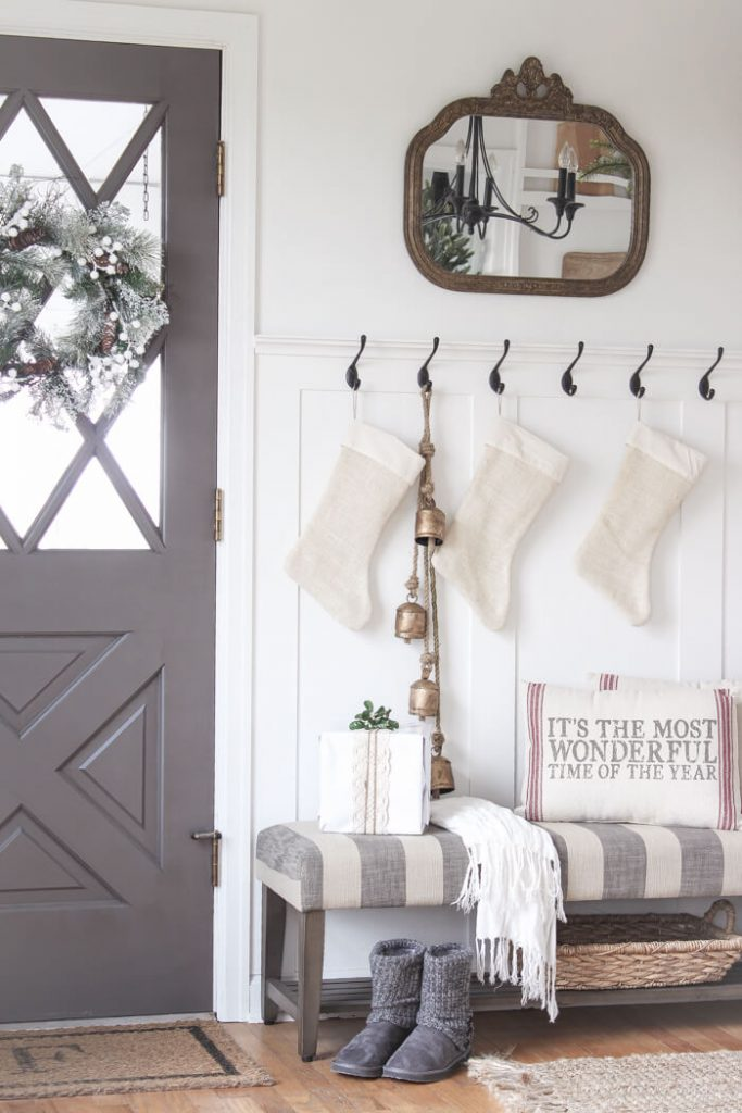 bench ideas for entryway