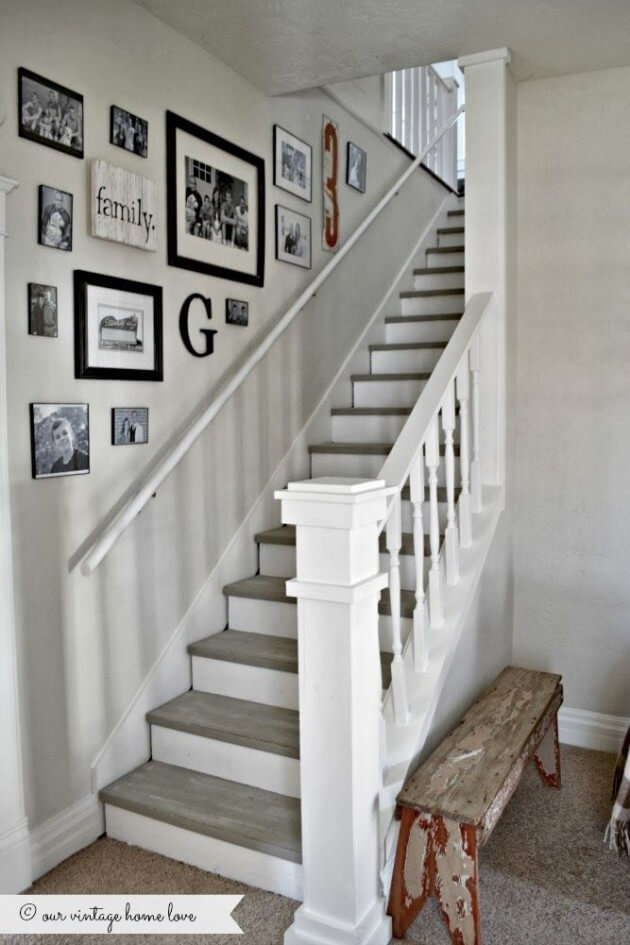best wall decor for staircase